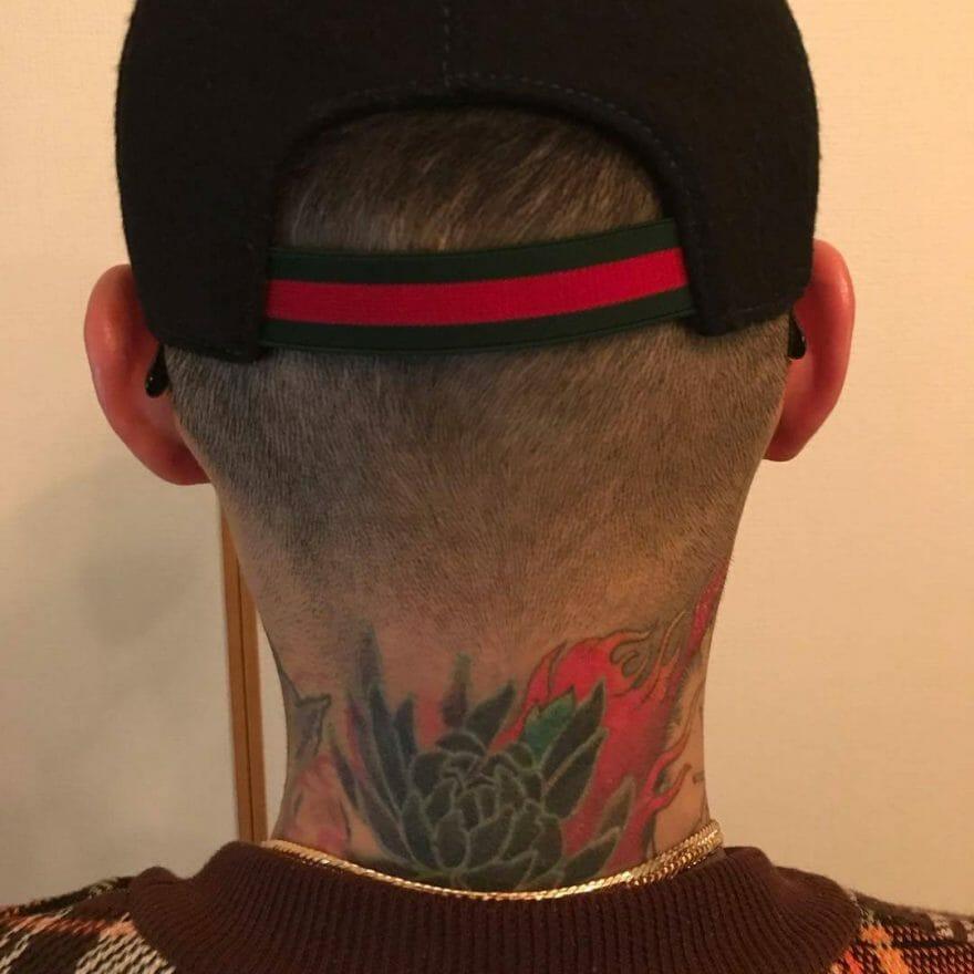 DELTA9KID(デルタ9キッド)の刺青(タトゥー) (3)