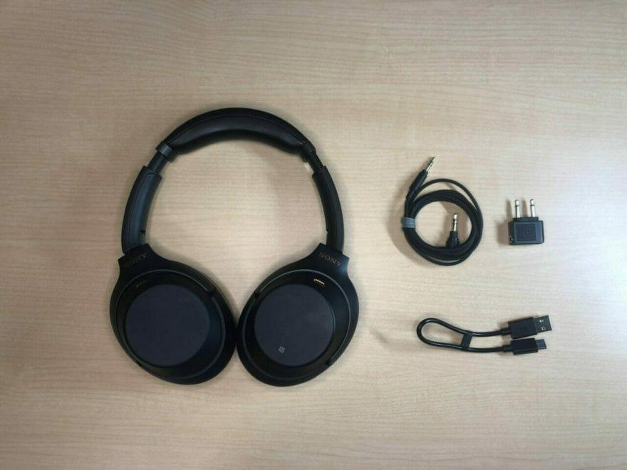 WH-1000XM3付属品