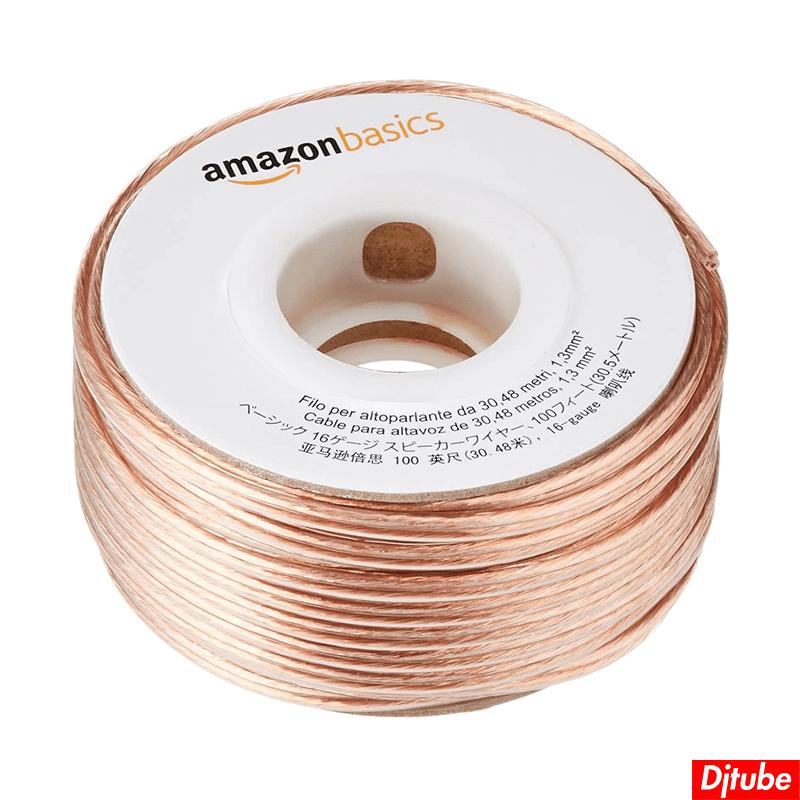 Amazonベーシック-スピーカーケーブル (1)