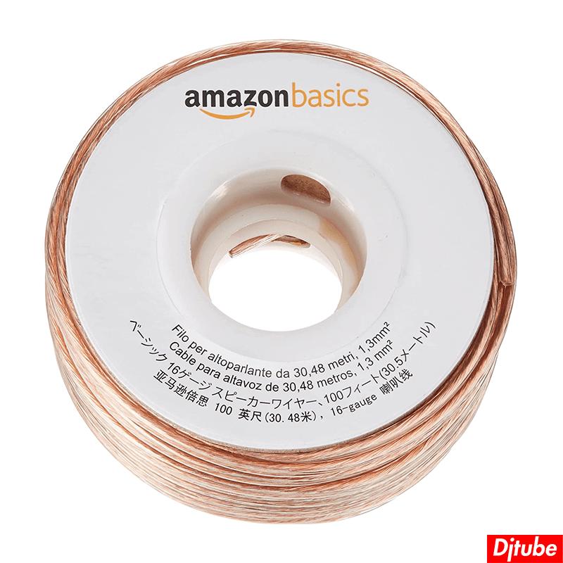 Amazonベーシック-スピーカーケーブル (2)