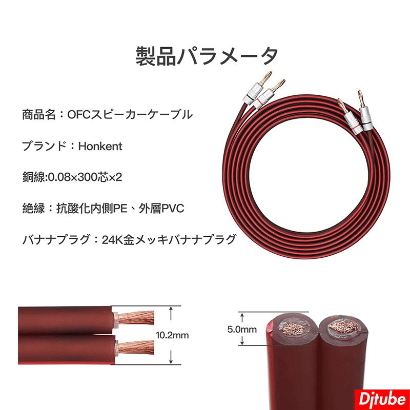 HONKENT-スピーカーケーブル (5)